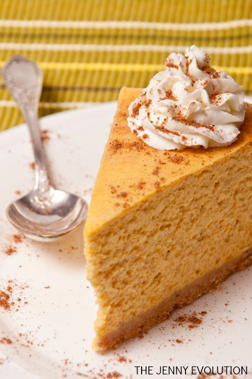 Cheesecake Factory Pumpkin Cheesecake Copycat