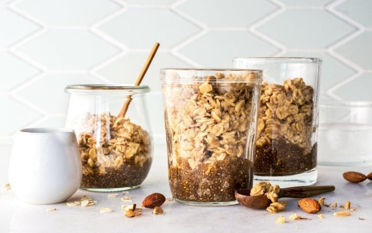 Coffee-Infused Overnight Proats