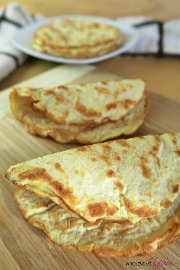 3 Ingredient Low Carb Recipes  3 Ingre nt Coconut Flour Tortillas Paleo Low Carb