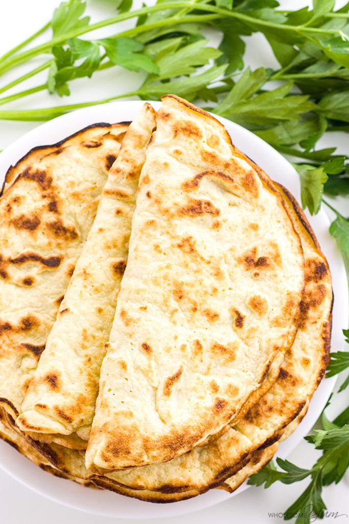 3 Ingredient Low Carb Recipes  Low Carb Paleo Tortillas Recipe 3 Ingre nt Coconut