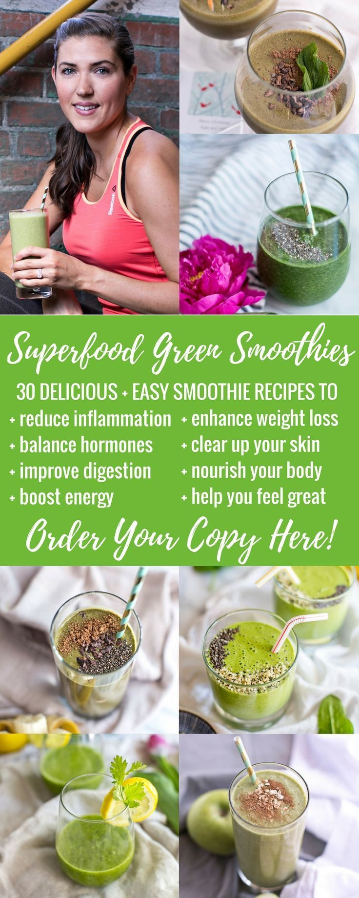30 10 Weight Loss Recipes  Healthy Recipes 30 Delicious Easy Smoothie Recipes to