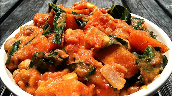 African American Vegetarian Recipes  Vegan Recipe African Yam Stew