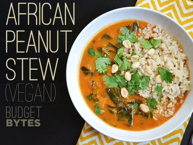 African American Vegetarian Recipes  African Peanut Stew vegan Bud Bytes