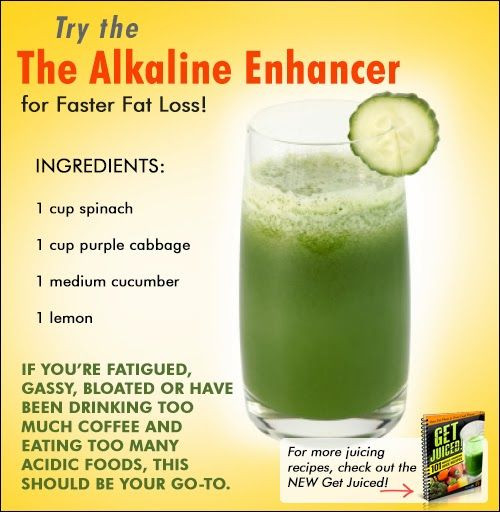 Alkaline Smoothies For Weight Loss  The Alkaline Enhancer for Faster Fat Loss Juicing