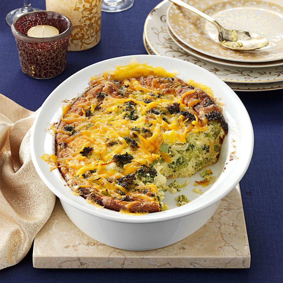 Allrecipes Easter Dinner  Broccoli Cheddar Casserole Recipe