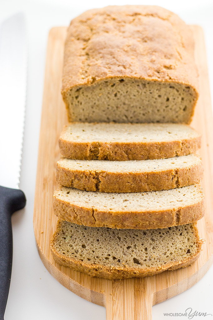 Almond Flour Recipes Low Carb  Easy Low Carb Bread Recipe Almond Flour Bread Paleo