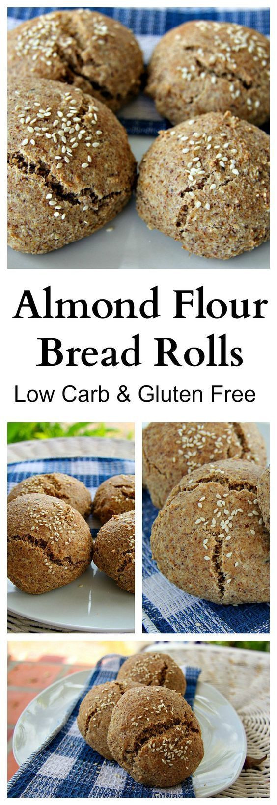 Almond Flour Recipes Low Carb  119 best images about Primal Paleo Breads on Pinterest