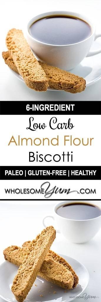 Almond Flour Recipes Low Carb  almond flour biscotti low carb
