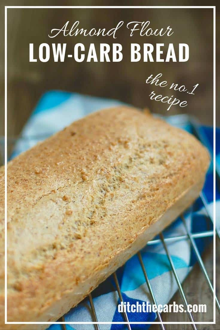 Almond Flour Recipes Low Carb  Low Carb Almond Flour Bread THE recipe everyone is going