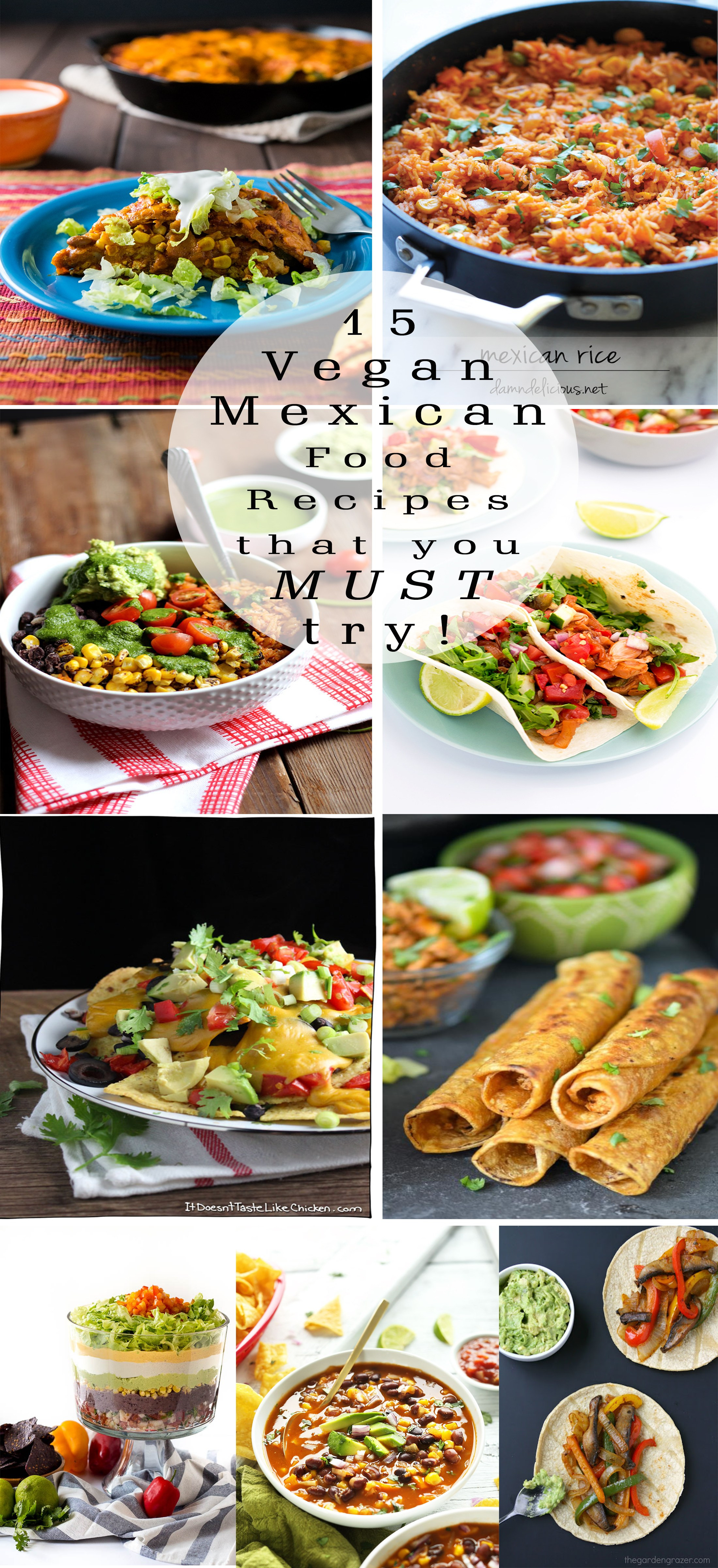 Amazing Vegan Recipes  15 Amazing Vegan Mexican Food Recipes Cheftographer