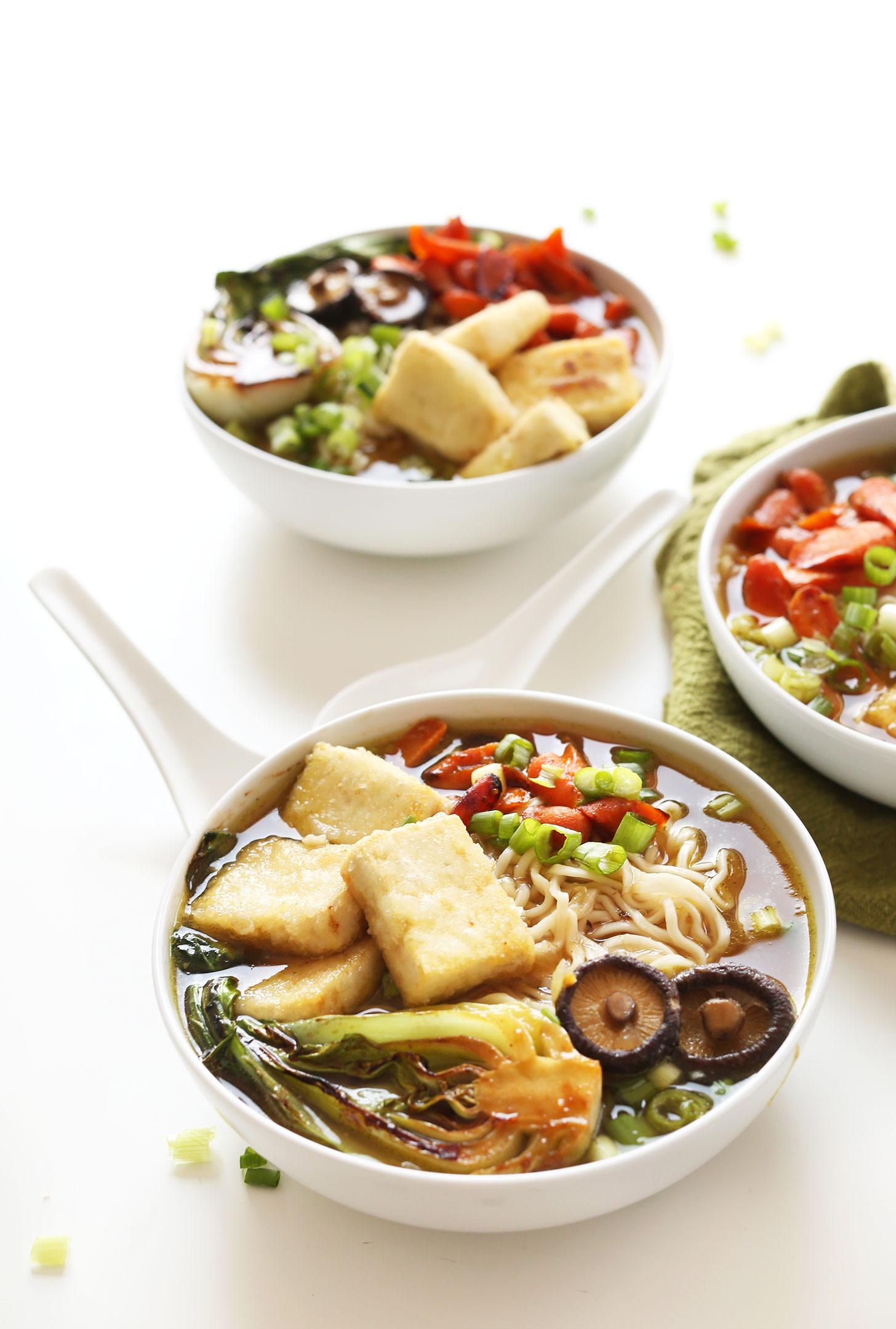 Amazing Vegan Recipes  ve arian ramen soup recipe