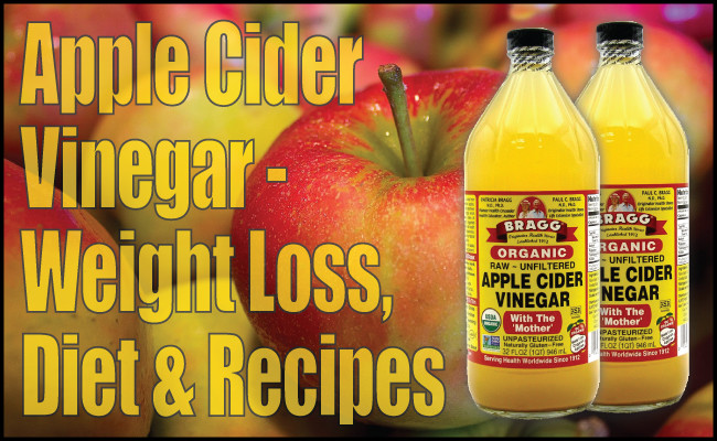 Apple Cider Vinegar Recipes For Weight Loss  Apple Cider Vinegar Weight Loss Diet & Recipes