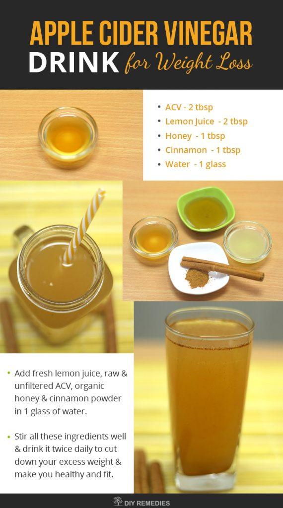 Apple Cider Vinegar Recipes For Weight Loss  apple cider vinegar recipe for weight loss