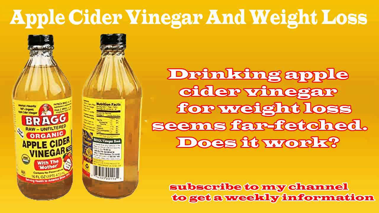 Apple Cider Vinegar Weight Loss  how to use apple cider vinegar for weight loss