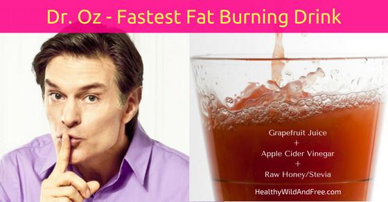 "Apple Cider Vinegar Weight Loss Dr Oz  Dr Oz's ""Swimsuit Slim Down Drink"" Breaks Down Fat Faster"