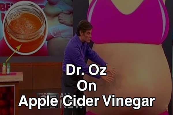 Apple Cider Vinegar Weight Loss Dr Oz  Dr Oz Apple Cider Vinegar Does It Work Updated 2018