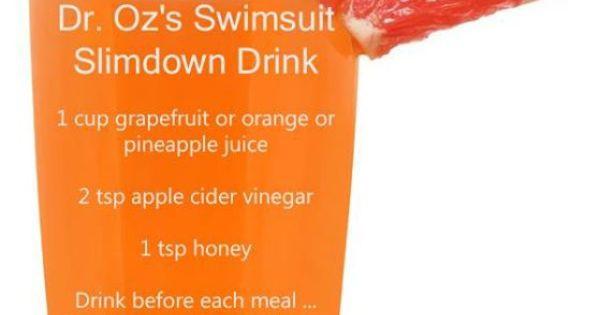 Apple Cider Vinegar Weight Loss Dr Oz  Jillian Michaels Weight Loss Tips That Work