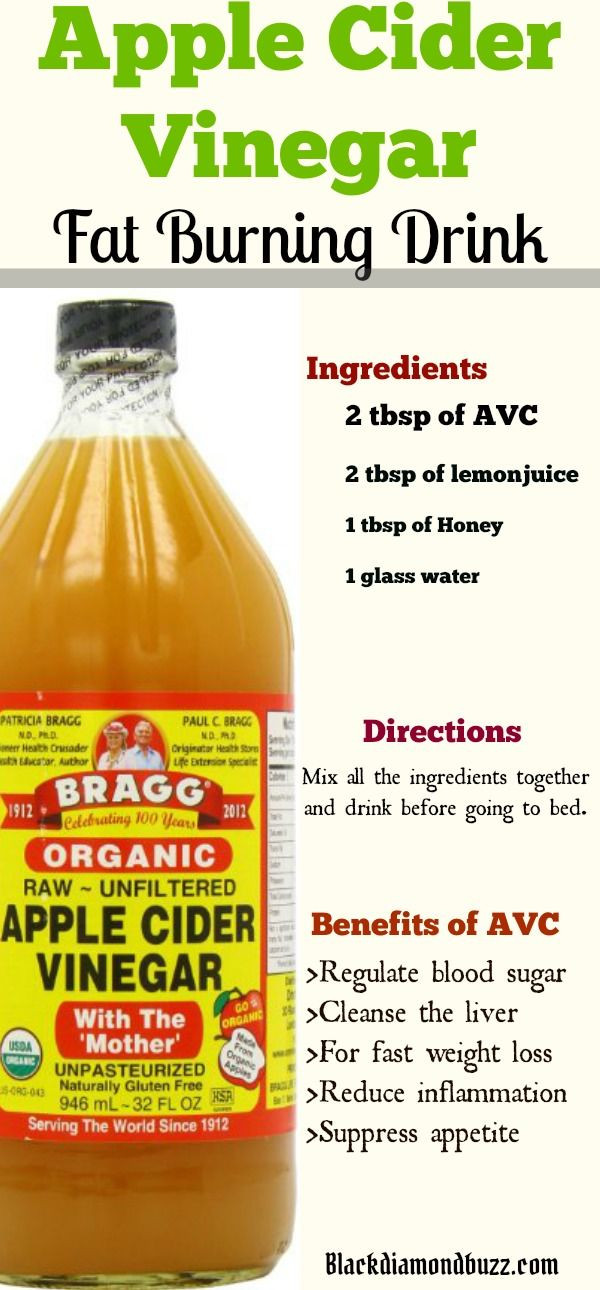 Apple Cider Vinegar Weight Loss  Apple Cider Vinegar for Weight Loss in 1 Week how do you