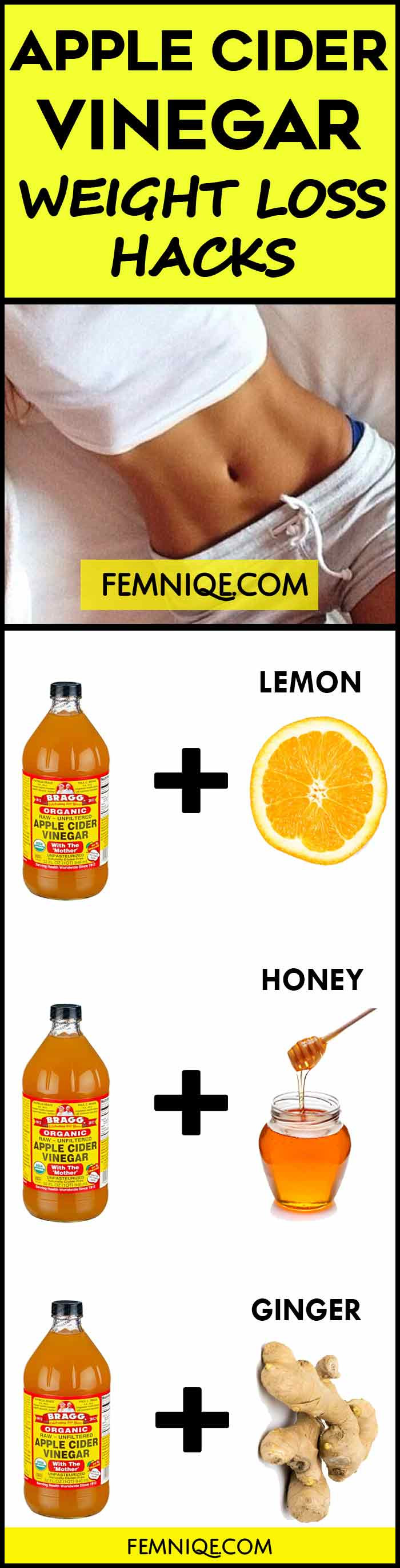 Apple Cider Vinegar Weight Loss  How To Use Apple Cider Vinegar for Weight Loss Femniqe