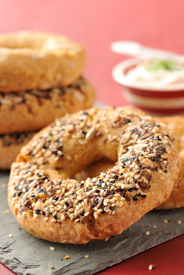 Are Bagels Dairy Free  Gluten Free Oat Bagels Recipe