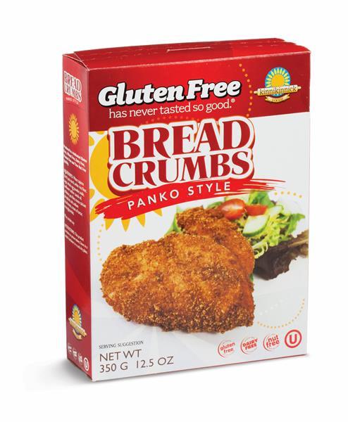 Are Bread Crumbs Gluten Free  Kinnikinnick Gluten Free Panko Style Bread Crumbs