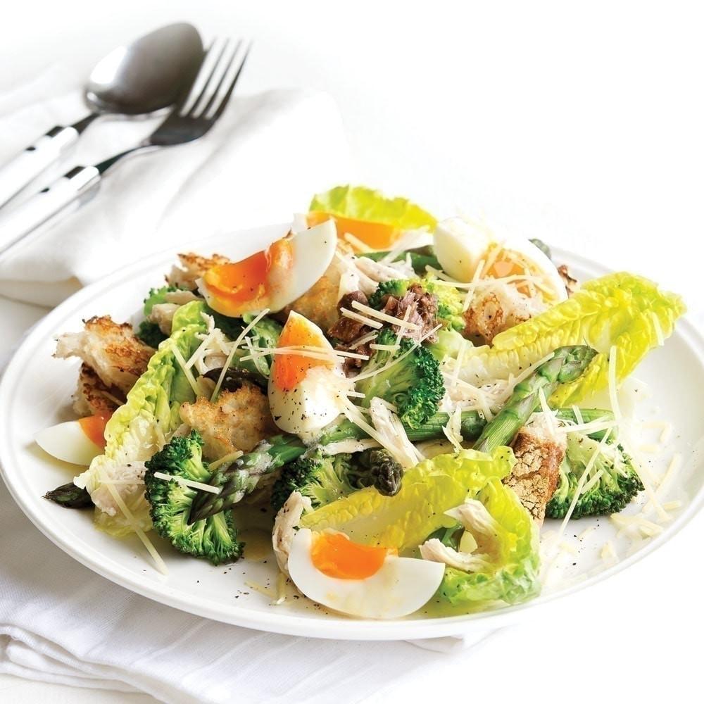 Are Caesar Salads Healthy  Chicken Caesar salad