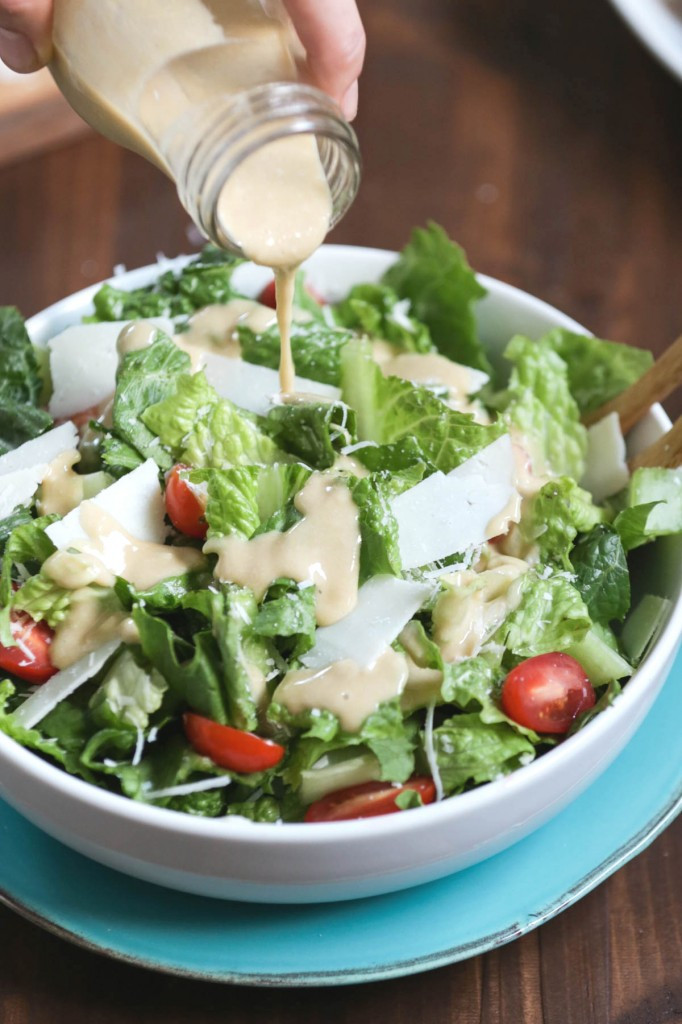 Are Caesar Salads Healthy  Homemade Probiotic Chicken Caesar Salad Live Simply