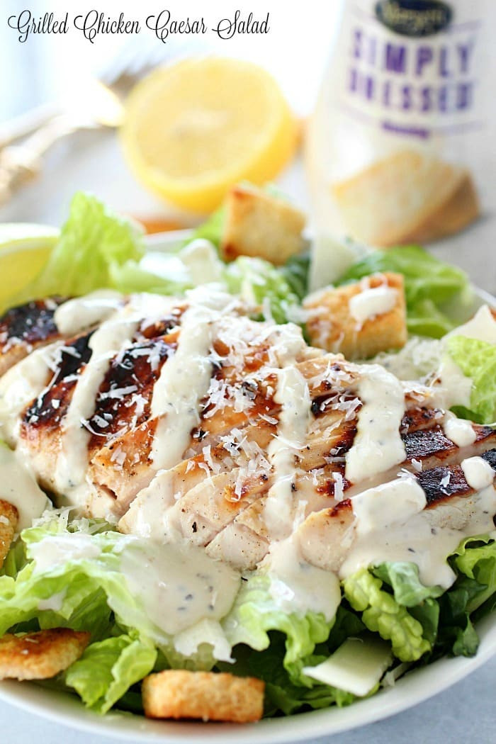 Are Caesar Salads Healthy  Grilled Chicken Caesar Salad Yummy Healthy Easy