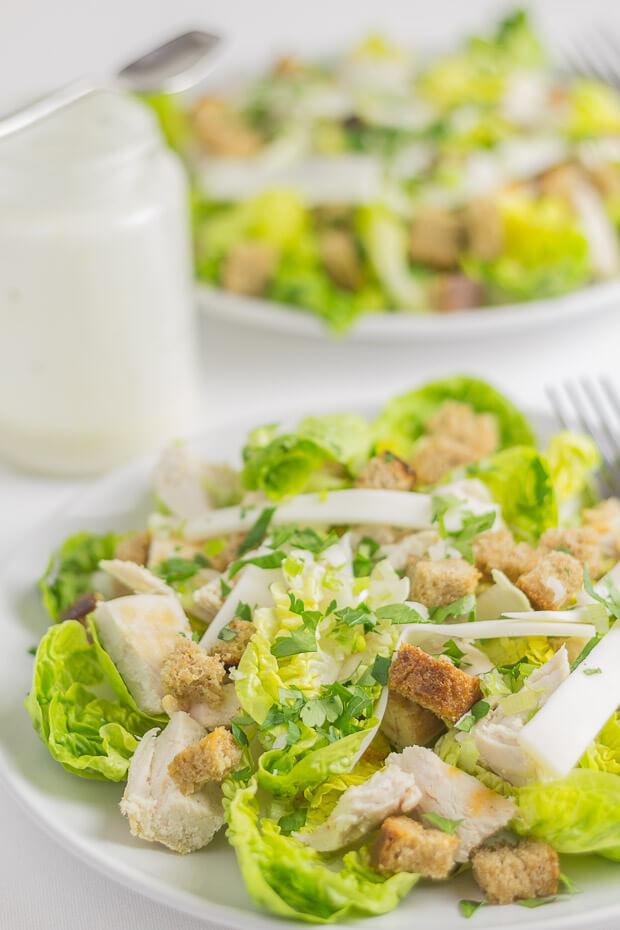 Are Caesar Salads Healthy  Chicken Caesar Salad Neils Healthy Meals