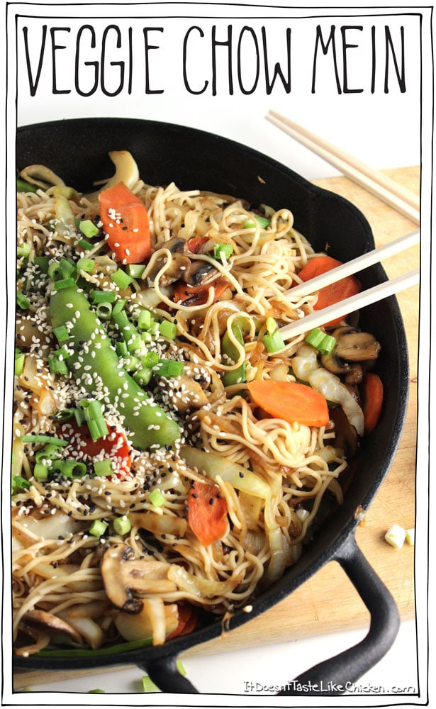 Are Chow Mein Noodles Vegan  Veggie Chow Mein it doesn t taste like chicken