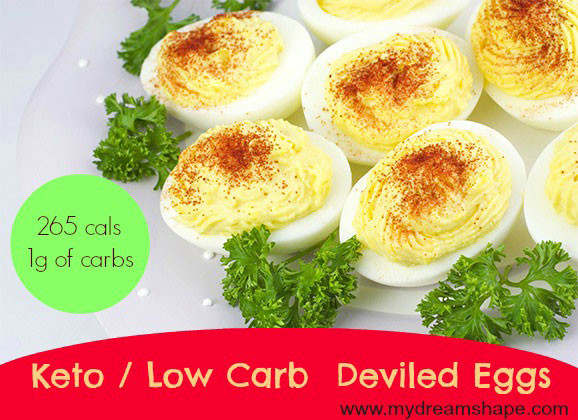 Are Deviled Eggs Low Carb  Keto Deviled Eggs Low Carb My Dream Shape
