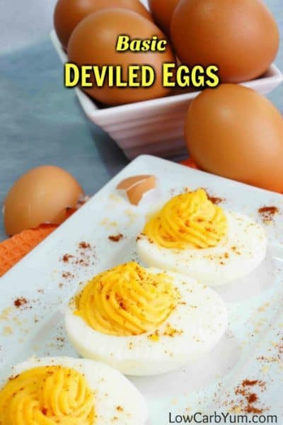 Are Deviled Eggs Low Carb  Basic Deviled Eggs for a Low Carb Diet
