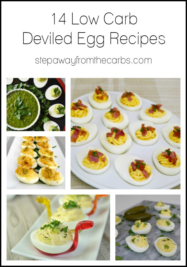 Are Deviled Eggs Low Carb  14 Low Carb Deviled Egg Recipes Step Away From The Carbs