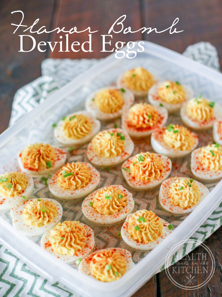 Are Deviled Eggs Low Carb  Flavor BOMB Deviled Eggs Paleo Low Carb & Ve arian