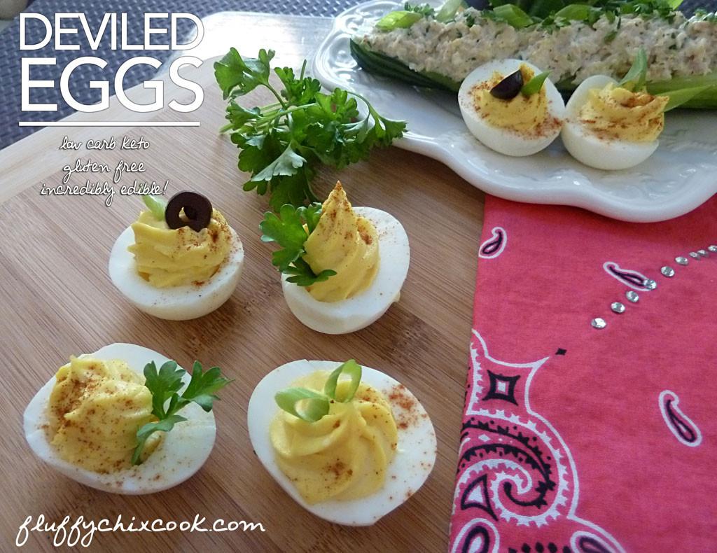 Are Deviled Eggs Low Carb  Deviled Eggs – Low Carb Devilishly Delicious