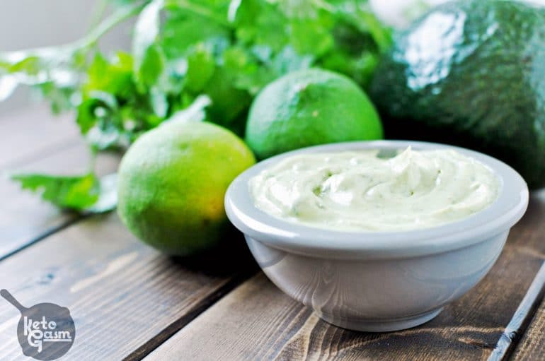 Are Limes Ok On Keto Diet  Avocado Mayonnaise with Cilantro & Lime [Recipe] KETOGASM