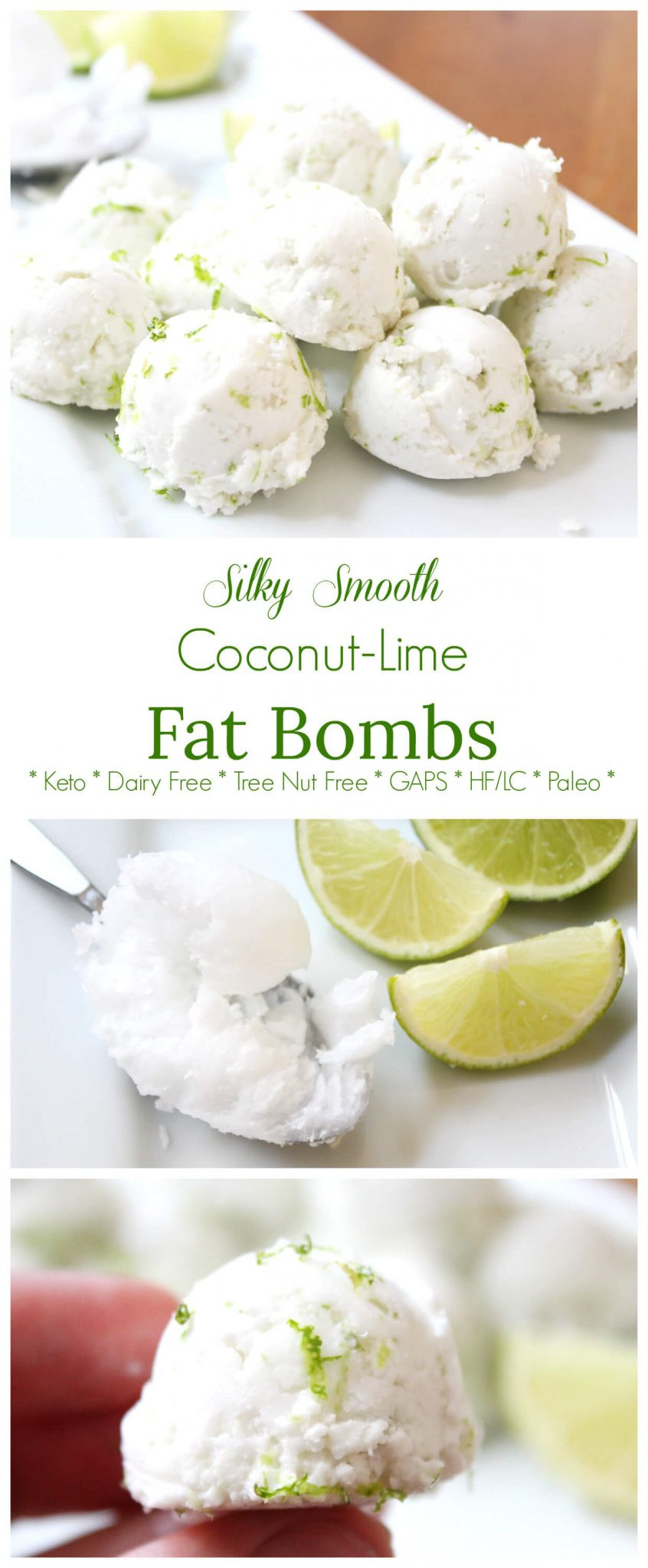 Are Limes Ok On Keto Diet  Silky Smooth Coconut Lime Fat Bombs Keto GAPS Paleo
