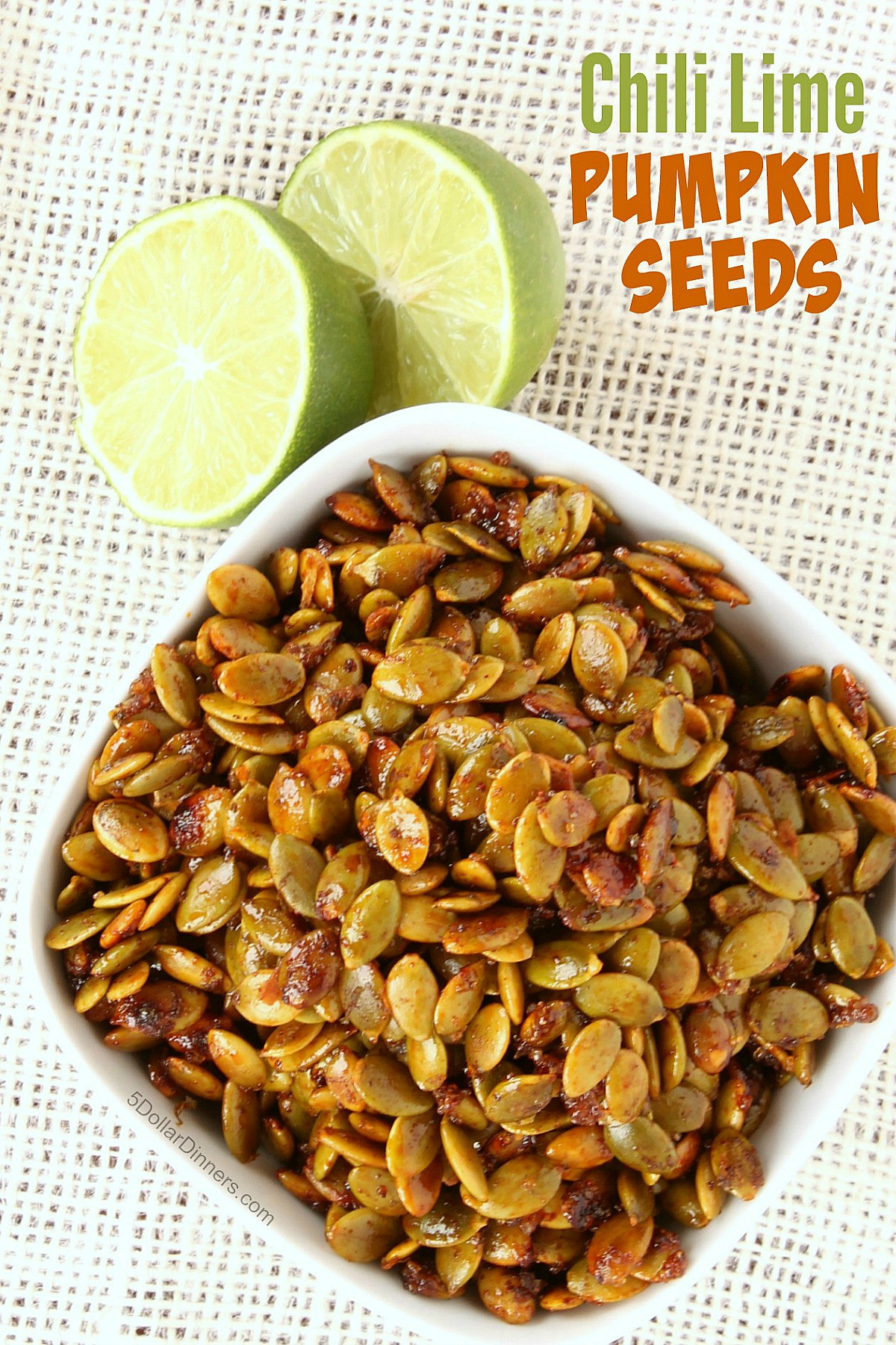 Are Pumpkin Seeds Healthy  Chili Lime Pumpkin Seeds 31 Days of Healthy Snack Recipes