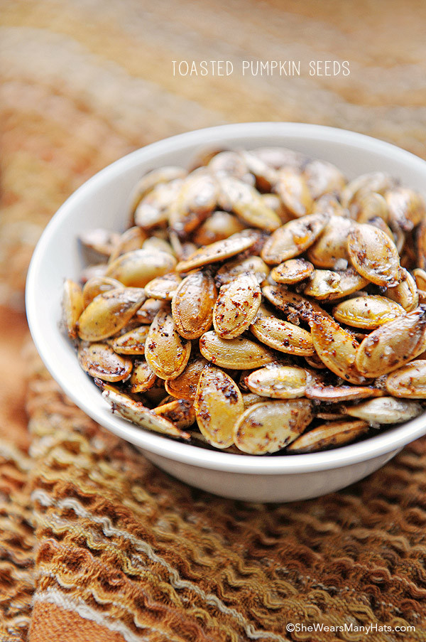Are Pumpkin Seeds Healthy  Spicy Toasted Pumpkin Seeds Recipe