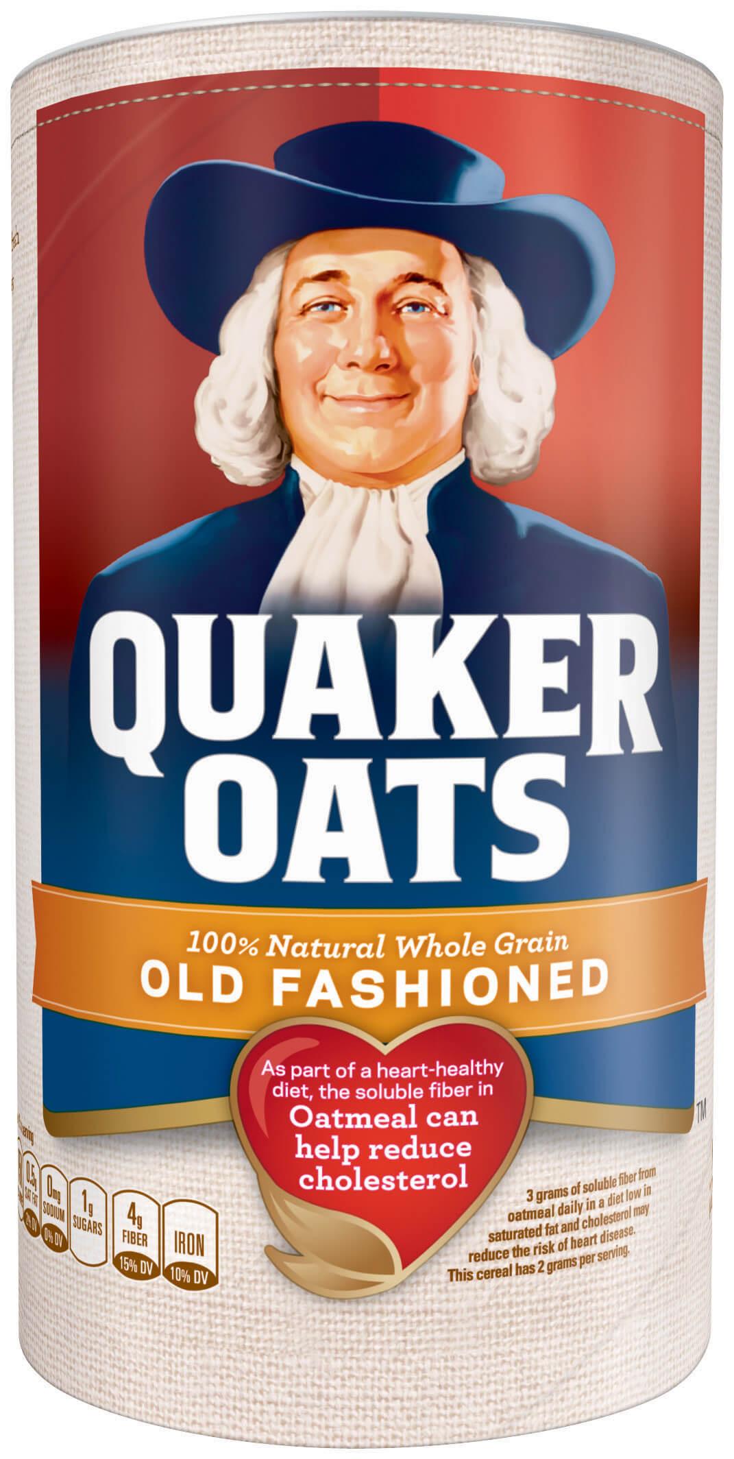 Are Quaker Old Fashioned Oats Gluten Free  Product Hot Cereals Old Fashioned Quaker Oats