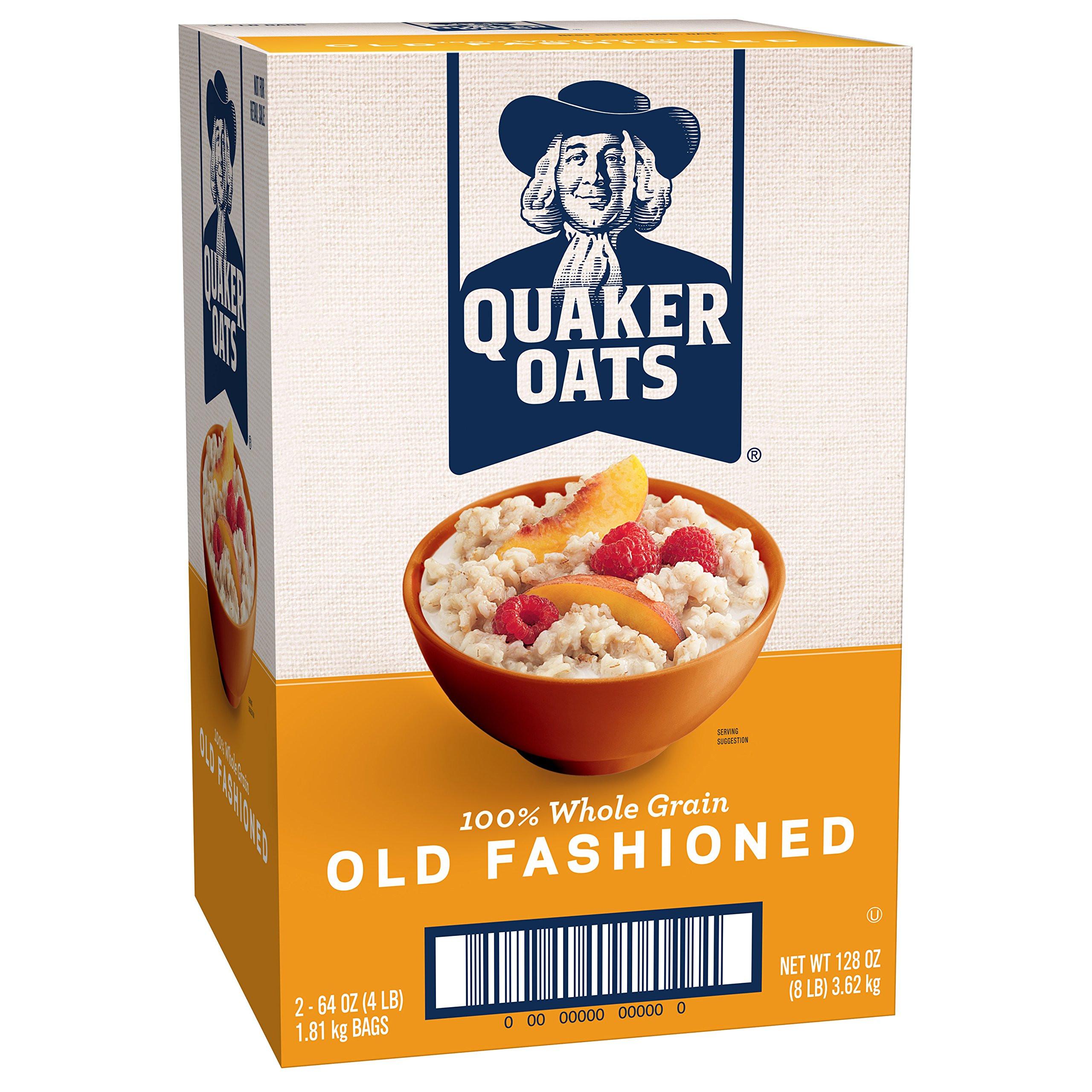 Are Quaker Old Fashioned Oats Gluten Free  Amazon Quaker Quick Grits 5 lb