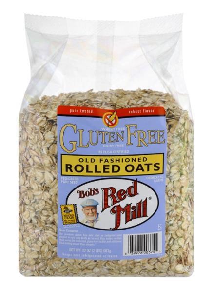 Are Quaker Old Fashioned Oats Gluten Free  Bob s Red Mill Gluten Free Old Fashioned Rolled Oats
