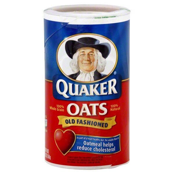 Are Quaker Old Fashioned Oats Gluten Free  Quaker Old Fashioned Oats 18 oz 1 lb 2 oz 510 g Food