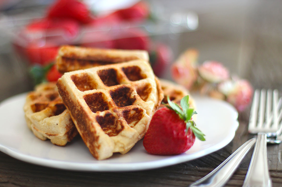 Are Waffles Healthy  Healthy Gluten Free Waffles Recipe Low Carb