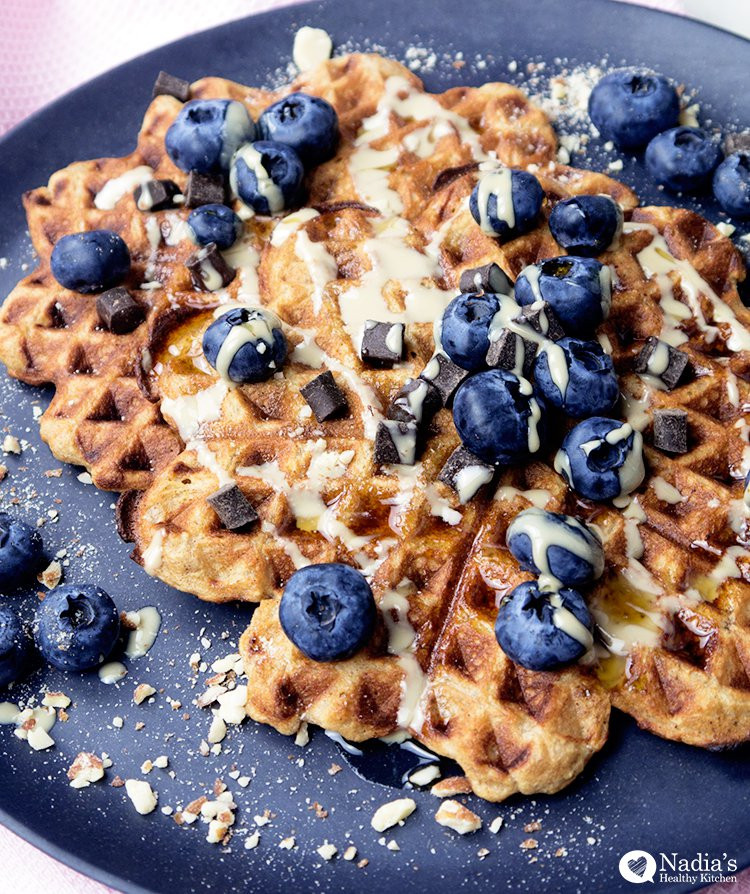 Are Waffles Healthy  Healthy Oat Waffles