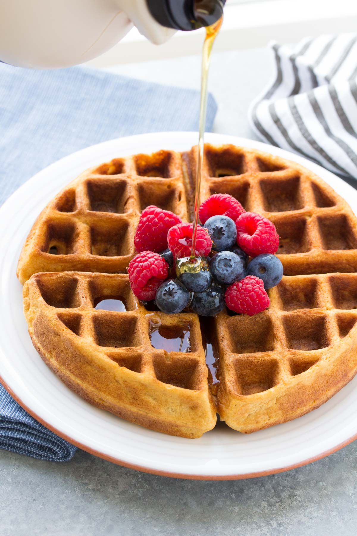Are Waffles Healthy  Best Easy Healthy Pancake Recipe Makes Waffles Too