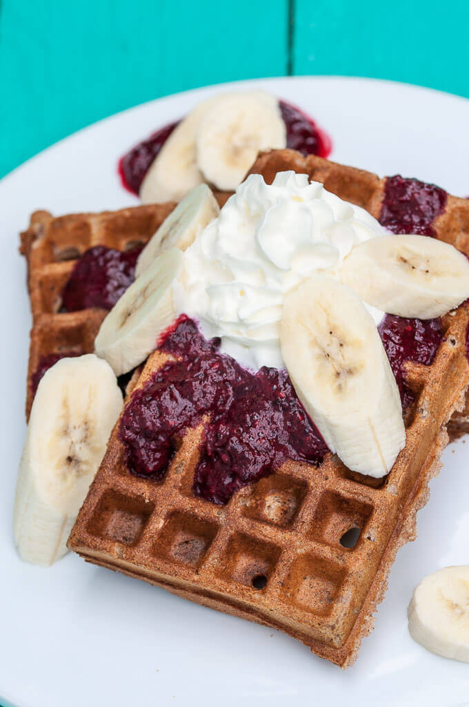Are Waffles Healthy  healthy vegan waffles