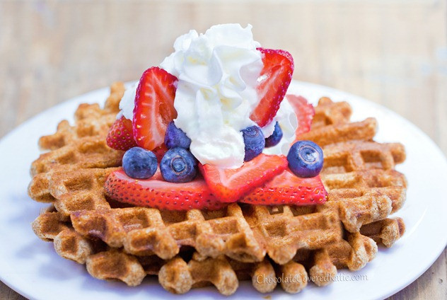 Are Waffles Healthy  Healthy Waffles Light Fluffy and Fat Free