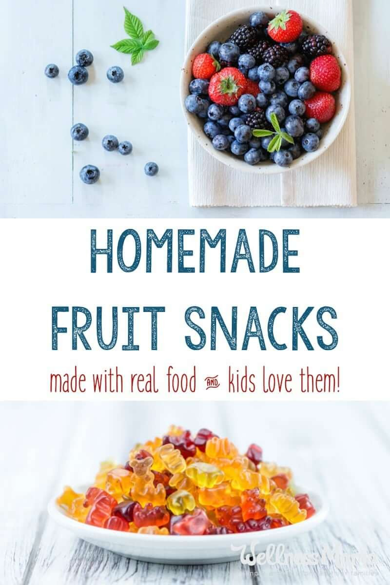 Are Welch'S Fruit Snacks Healthy  Healthy Homemade Fruit Snacks Recipe