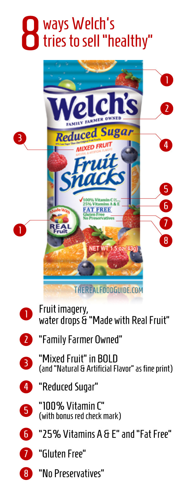 Are Welch'S Fruit Snacks Healthy  Welch s Fruit Snacks Food Label
